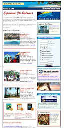 Free Vacation Travel Newsletter