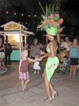 Dancing to the Junkanoo beat